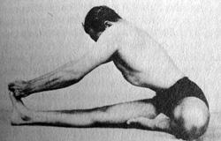 BKS Iyengar from Light on Yoga